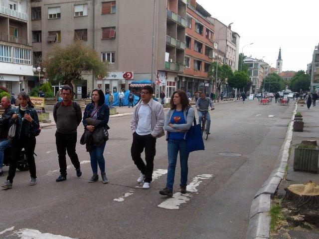 NKD obavestio i Evropsku komisiju o paljenju automobila aktiviste iz Aleksinca; foto: NKD