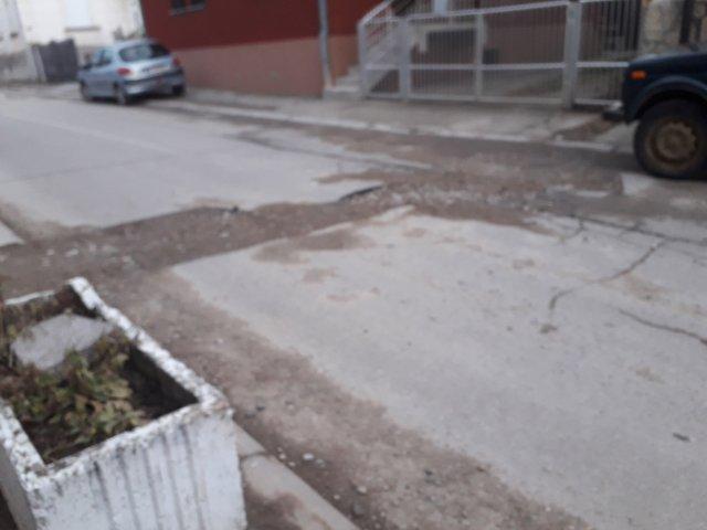 Лоше стање улица у Алексинцу