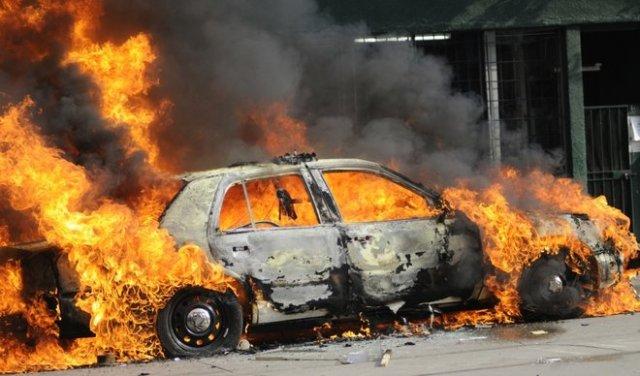Plinska boca raznela automobil u Mozgovu