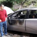 Дугогодишњем новинару Алексинац.нет запаљен ауто