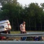 Турчин повређен у саобраћајној незгоди близу Алексинца