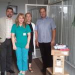 """Донација Хепи центра болници, подршка програму """"Бебо, добро дошла на свет"""""""