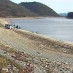 Бованско језеро скоро пресушило