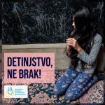 "Opština Aleksinac se priključila kampanji ""Detinjstvo, ne brak"""