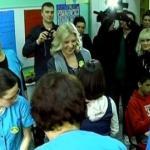 Dragica Nikolić darivala decu sa smetnjama u razvoju