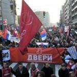 Буди храбар! Нема страха! Слобода за Србију!