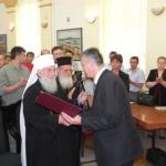 Патријарх Иринеј почасни грађанин општине Алексинац