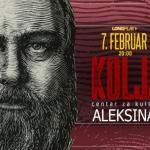 Никола Пејаковић Коља по први пут свира у Алексинцу