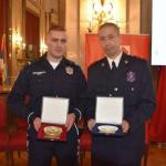 Mladom policajcu iz Aleksinca uručena nagrada - zlatna plaketa