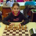 Anastasija Vojinović prvak centralne Srbije u šahu