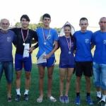 6 medalja za atletičare