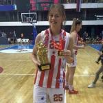 Mina Đorđević prelazi u ŽKK Budućnost