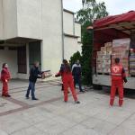 Пакети прехрамбених производа за грађане Алексинца