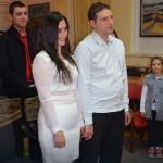 Романтични дочек: Венчали се тачно у поноћ (видео)