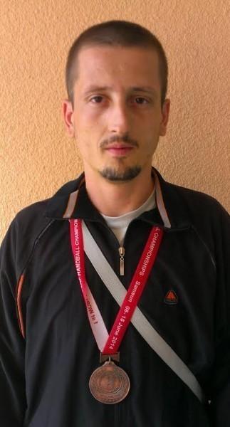 Aleksinčanininu bronza na svetskom prvenstvu gluvih