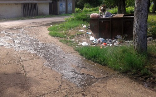 """Kanalizacija """"pliva"""" ulicama Aleksinačkog Rudnika"""
