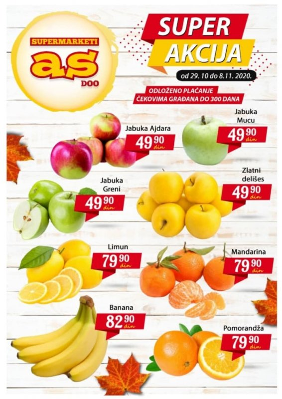 Nova nedeljna akcija u Supermarketima As