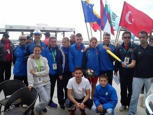 Зековић пети на Балканском првенству