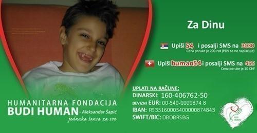 Pomoć za decu Dina Nešić