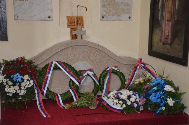 Света литургија и помен палим српским борцима Боја на Делиграду