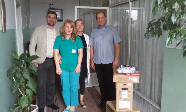 "Donacija Hepi centra bolnici, podrška programu ""Bebo, dobro došla na svet"""