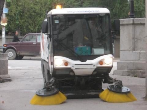 Mašina za čistiji i lepši grad