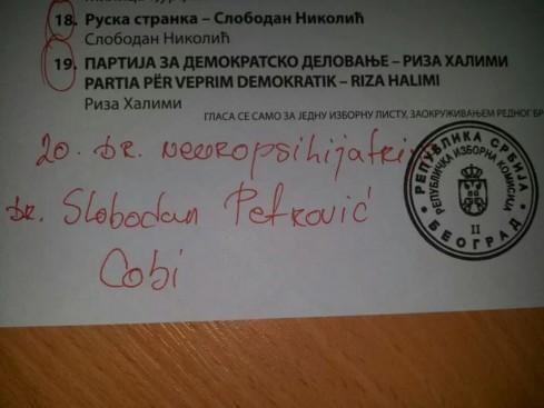 Грађани Алексинца гласали и за др Цобија