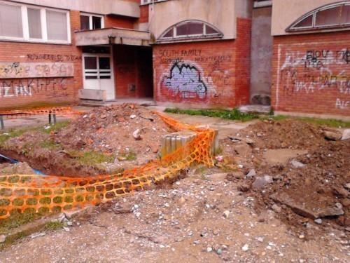 Београд на води, Алексинац у блату