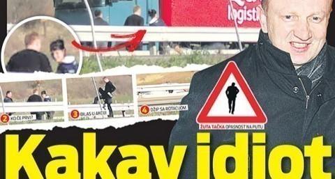 "Đilas pretrčavao auto-put kod ""Marjana"""