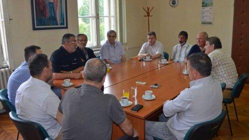 Prijem za bivše opštinske funkcionere povodom Dana opštine