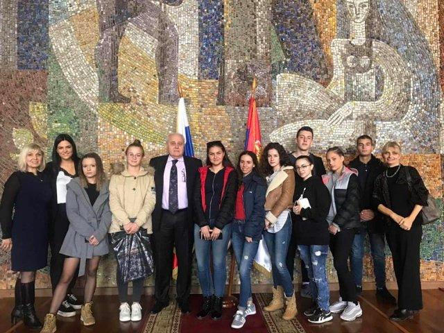 Aleksinački gimnazijalci posetili Rusku Federaciju