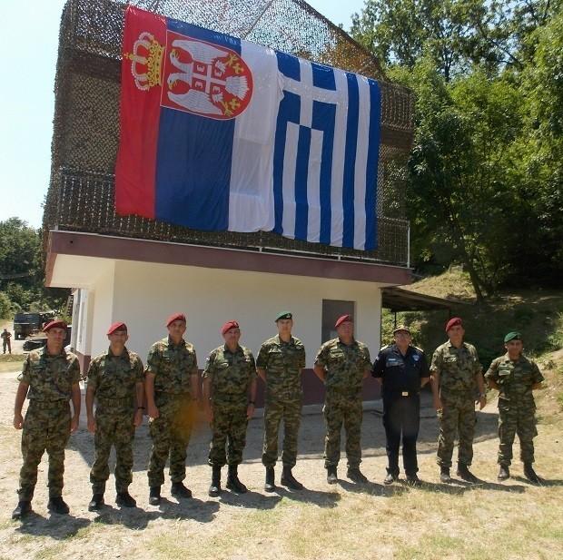 """Zajednička vežba specijalaca Srbije i Grčke na strelištu """"Šumatovac"""""""