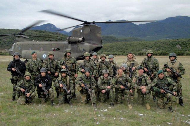 Српска и грчка војска вежбале на полигону Шуматовац