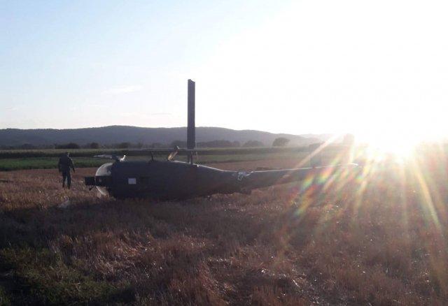 Pao helihopter u Vukašinovcu, dva pilota povređena