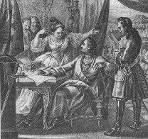 Петар Велики код Прута. Гравира из 19. века