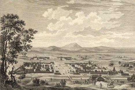 Луј Никола де Лепинас. Кјахта. Гравира из 1783. године