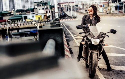"Akcija ""Bezbedni gradski motociklista"""