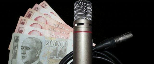 Kako su raspoređene pare za medije