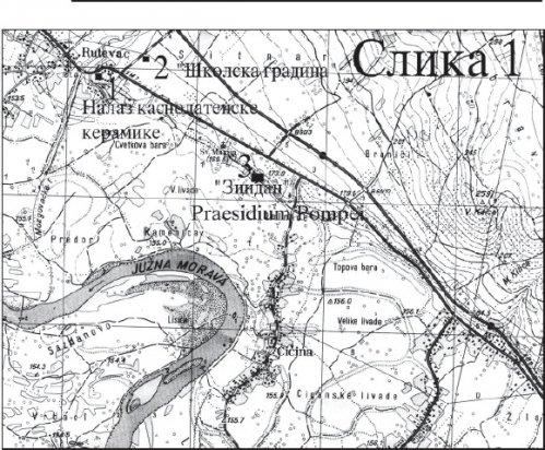 Rimsko naselje Praesidium Pompei - Rimljani u Aleksinačkoj kotlini