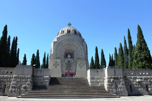 Будимир Христодуло, неимар војничког гробља у Солуну