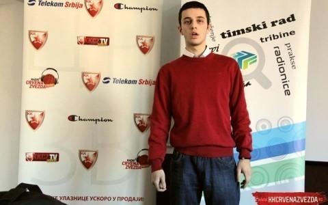 Алексинчанин у тиму Црвене Звезде