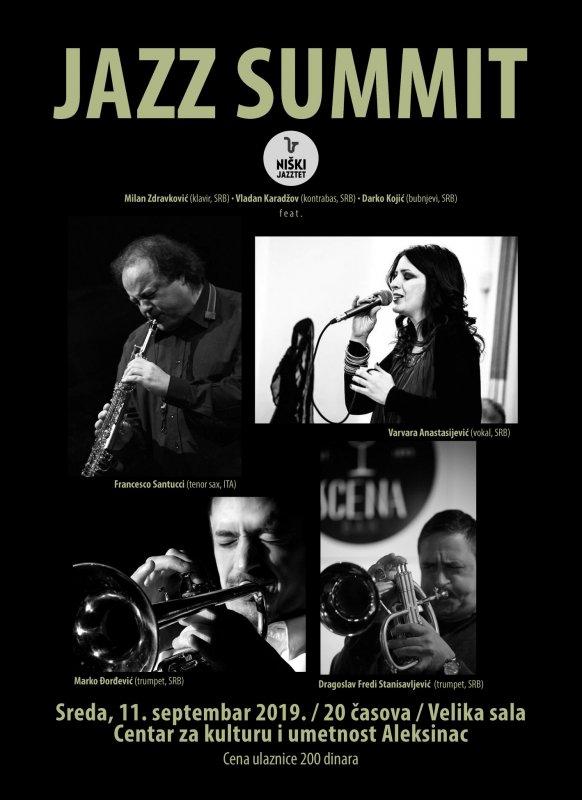 Italijanski džez saksofonista gostuje u Aleksincu