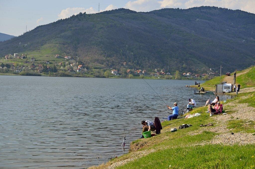 Међународно такмичење у спортском риболову на Бованском језеру