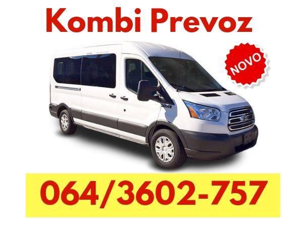 Kombi prevoz - 064 360 27 57