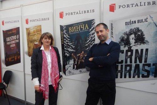 Ivan Drajzl na Beogradskom sajmu knjiga