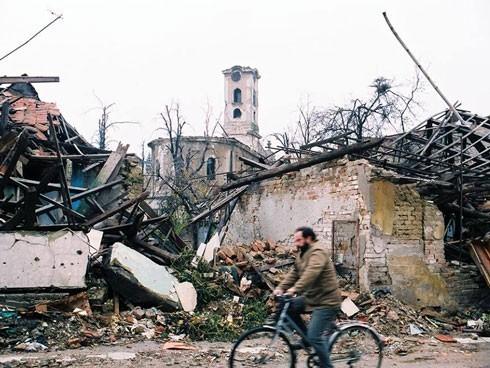 """""""Вуковар - разорени град"""" на фотографијама Хаџи Миодрага Миладиновића"""