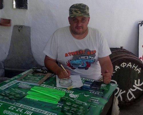 Наш новинар шеф прес центра фестивала у Сокобањи