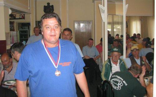 Војкан Ерор, вицешампион југоистока Србије