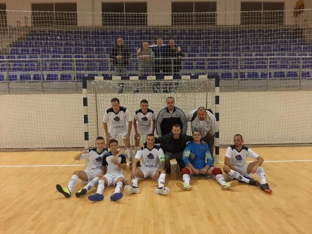 Ekipa Brđanke nakon pobede u Beloj Palanci