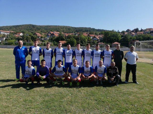 Ekipa FK PALILULA sa današnje utakmice
